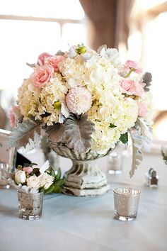 Eclectic and beautiful arrangement by Sayles Livingston Flowers.