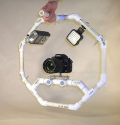 pvc- lights camera action! Find the parts and more photography plans at pvcplans.com