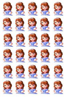 Princess Sofia Birthday, Princess Sofia The First, Birthday Tarpaulin Design, Sofia Cake, Minnie Mouse Pictures, Princesa Sophia, Imagenes My Little Pony, Cute Cartoon Characters, Frozen Theme Party