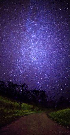 orecioso cielo estrellado