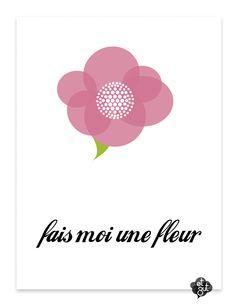 et zut...fais moi une fleur