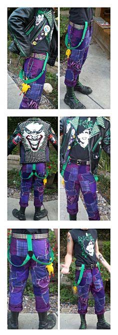 Punk Joker outfit