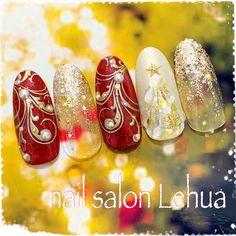 冬/クリスマス/雪の結晶/ミラー/ボルドー - Lehua(レフア)大木萌子のネイルデザイン[No.3672816] ネイルブック Creative Nail Designs, Creative Nails, Acrylic Nail Designs, Nail Art Designs, Acrylic Nails, Xmas Nails, Christmas Nail Art, Holiday Nails, Red Nails