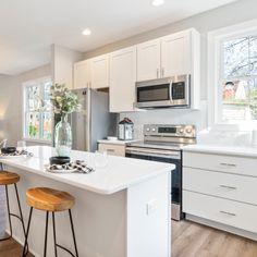 170 White Shaker Cabinets Kitchen Design Ideas In 2021 Kitchen Design White Shaker Cabinets Shaker Cabinets