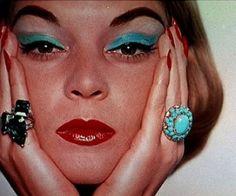 Jean Patchett top 50's Vogue model