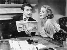 James Stewart and Jean Arthur, Mr Smith Goes To Washington (Frank Capra, 1939)