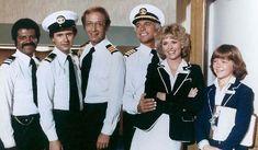 The Love Boat 80/'s CBS TV Series Here To Serve Juniors Sheer T-Shirt Tee