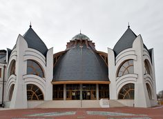 Organic architecture by Imre Makovecz.