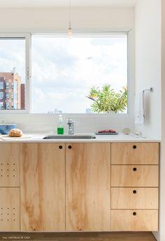 Cheap Home Decor, Home Decor Items, Home Decor Accessories, Küchen Design, House Design, Plywood Kitchen, Plywood Cabinets, Cabin Kitchens, Home Remodeling Diy
