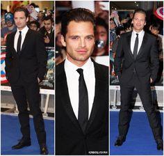 Sebastian ⭐ Stan at Captain America: Civil War premier created by Kimberlydyan