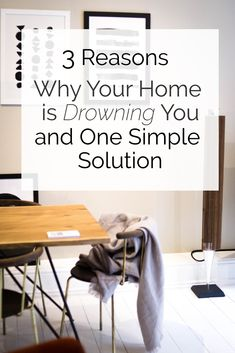 3 Reasons why your home is drowning you and 1 simple solution. Click through to find out how to make your home a guilt-free, happy place again. Bedroom Storage Inspiration, Nordic Interior Design, Interior Decorating, Scandinavian Bedroom, Guilt Free, Decorating With Pictures, Beautiful Living Rooms, Dining Room Design, Erika