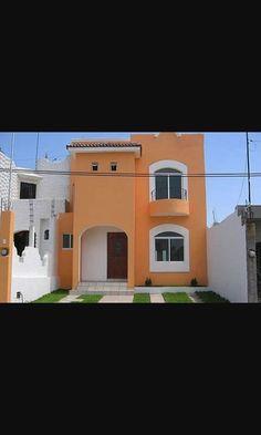 30 fachadas de casas modernas y lujosas colores para for Pinturas para exterior de casas modernas