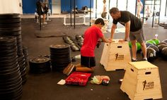 Make your own CrossFit gym in your garage! Love Again Faster Equipment.