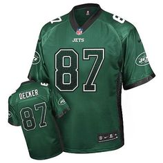 NFL New York Jets Eric Decker Youth Limited Green #87 Jerseys