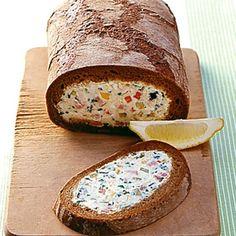 ESSEN & TRINKEN - Gefülltes Brot Rezept