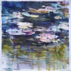 Joanne Reen: Water Garden Study II: fine art   StateoftheART Canvas Fabric, Oil On Canvas, South African Artists, Water Garden, Original Artwork, Study, Fine Art, Gallery, Painting