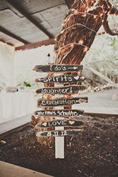 DIY Fun for the front yard, pointing to the back   minus spirits, plus welcome Keywords: #tiffanyblueweddings #jevelweddingplanning Follow Us: www.jevelweddingplanning.com  www.facebook.com/jevelweddingplanning/