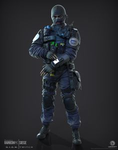 The first CTU operator I created for Rainbow 6|Siege.