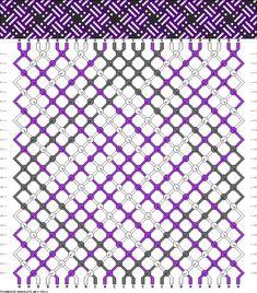 Muster # 78510, Streicher: 24 Zeilen: 24 Farben: 3