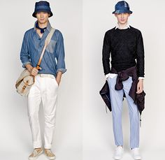 J.Crew 2015 Spring Summer Mens Lookbook Presentation - New York Fashion Week…