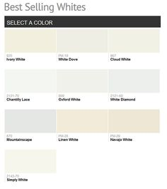 2016 Paint Color Ideas for your Home - (Benjamin Moore colors)