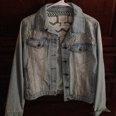 Forever 21 jean jacket New with tags. Smoke free, dog friendly home. Forever 21 Jackets & Coats Jean Jackets