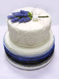 Lavender Cake - Caketutes Cake Designer: Bolo Lavanda - Wedding Cake