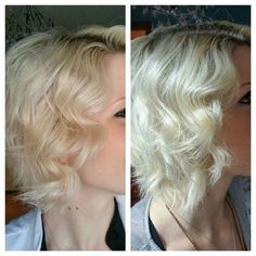 BRASSINESS be GONE!! This blonde babe tried the Balance System with the Oil for two washes. NO TONER required!! The oil can be added to your bleach to prevent bassiness and protect your hair from damage. Blondes definitely have more fun and less worry when they use Monat! ! Do you know anybody that could benefit from these revolutionary products?? Send them my way!!