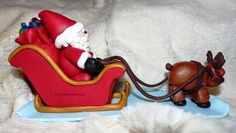 Santa Claus, sleigh and Rudolph the Red Nose Reindeer ;) - tutorial part 3.