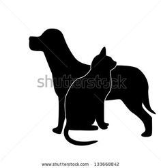 gatos tattoo silueta - Buscar con Google
