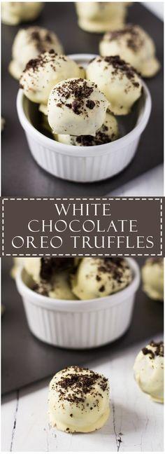 White Chocolate Oreo Truffles | Marsha's Baking Addiction