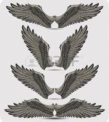 Resultado de imagen de raven wings drawing tattoo