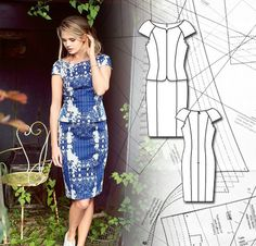 Sewing Lesson: Cap Sleeve Dress 108 03/2014