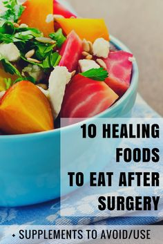 10 healing foods to eat for breast augmentation surgery recovery