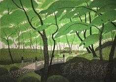 Green Garden at Hakone, by Kazuyuki Ohtsu