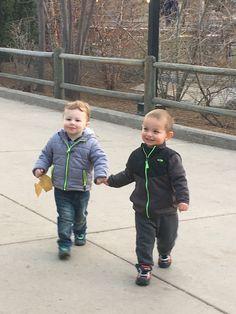 Toddler buddies. #toddlers, #boys, #bestfriends