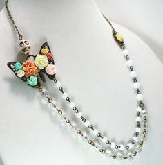 Hey, I found this really awesome Etsy listing at https://www.etsy.com/listing/230645348/shabby-sugar-skull-necklace-day-of-the