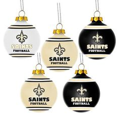 Forever Collectibles Shatterproof Ball Ornament NFL Team  New Orleans  Saints New Orleans Saints 82186f45c