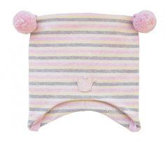 Kivat lue, med rosa, hvite, gule og grå striper   DressMyKid.no - Barn og baby - Alltid gode tilbud Beach Mat, Outdoor Blanket