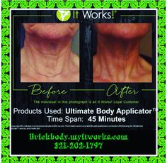 Hey my name is Micheala I am a itworks representative message me for any questions. About our great products