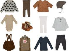 Autumn wardrobe update for baby Saxo, Selana, Caramel, Angulus, via Scandinavian Love Song Cute Outfits For Kids, Boy Outfits, Toddler Fashion, Kids Fashion, Kid Styles, Fall Wardrobe, Kind Mode, Cool Kids, Retro Fashion
