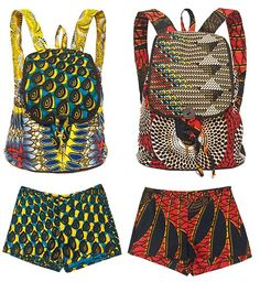 Digging these backpacks from the @Indego Africa & Nicole Miller collab!