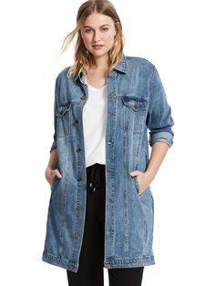 Oversized Denim Deta