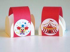 Forminha para doces - Circo - R$13,00 no DoceShop
