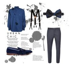 """#new_set_10"" by benelux2 ❤ liked on Polyvore featuring Alexander McQueen, Stefano Ricci, Henderson, Trafalgar, Valentino, men's fashion and menswear"