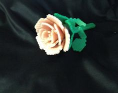 3d+perler+minecraft+rose+pattern | FREE SHIPPING: 3D Rose Perler Beads