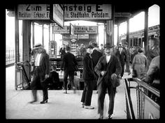 Berlin, Bahnhof Ostkreuz (um 1927)