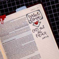 #30daysofbiblelettering #illustratedfaith #documentedfaith Illustrated Faith, 1 John, 30 Day, Journaling, Bullet Journal, Bible, Lettering, How To Plan, Instagram Posts