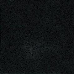 quartz countertop sample in absolute night lg