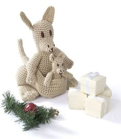 #crochet, free pattern, Ravelry, amigurumi, kangaroo, stuffed toy, #haken, gratis patroon (Engels), kangaroe, knuffel, speelgoed, #haakpatroon
